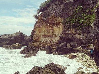 pantai sepanjang jogja di gunung kidul