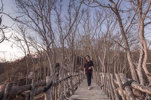 wisata watu lawang mangunan